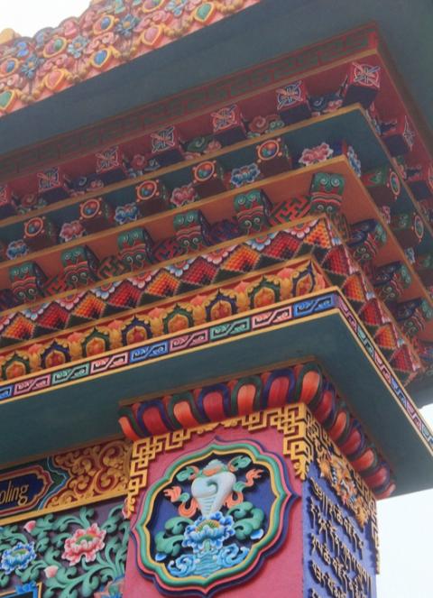 tengboche-gate-detail